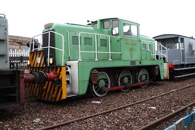 0-6-0DE No1 ex Tata Shunter.