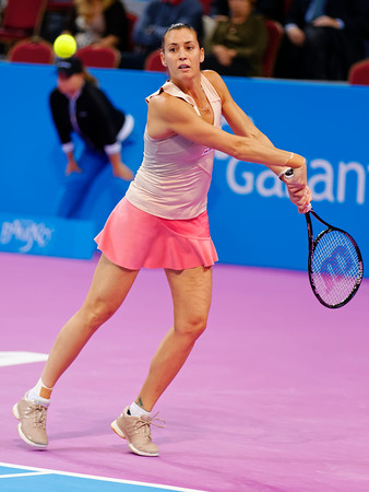 01.08 Flavia Pennetta - WTA Champions finals Sofia 2014_01.08