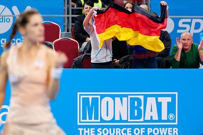 01.04 German fans - WTA Champions finals Sofia 2014_01.04