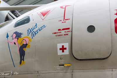 XH672 Nose Art 230514 Cosford