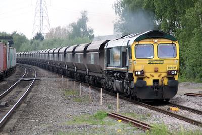 66511 1419/4e86 Rugeley-Hunslett.