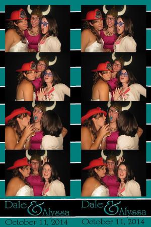 Alyssa and Dale October 11, 2014