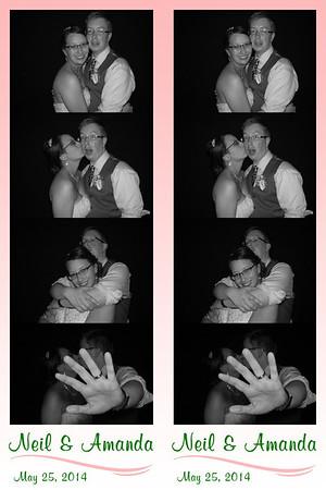 Amanda and Neil May 25, 2014