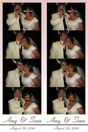 Amy and Sean August 30, 2014