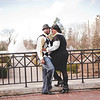 Franklin Park Conservatory engagement photography in Columbus, Ohio with Desarai and Moe