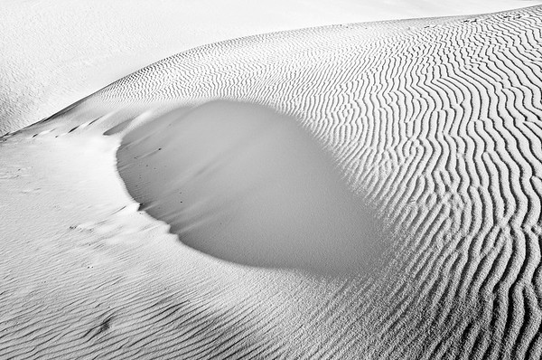 Shadow, White Sands National Monument