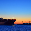Nothing better than getting up before sunrise. Containership MSC Matilde arrives at Conley Terminal in South Boston.