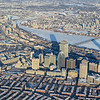 Boston from the air, January 12, 2014.