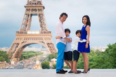 Wu family in Paris