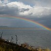 Rainbow over Yellowstone Lake