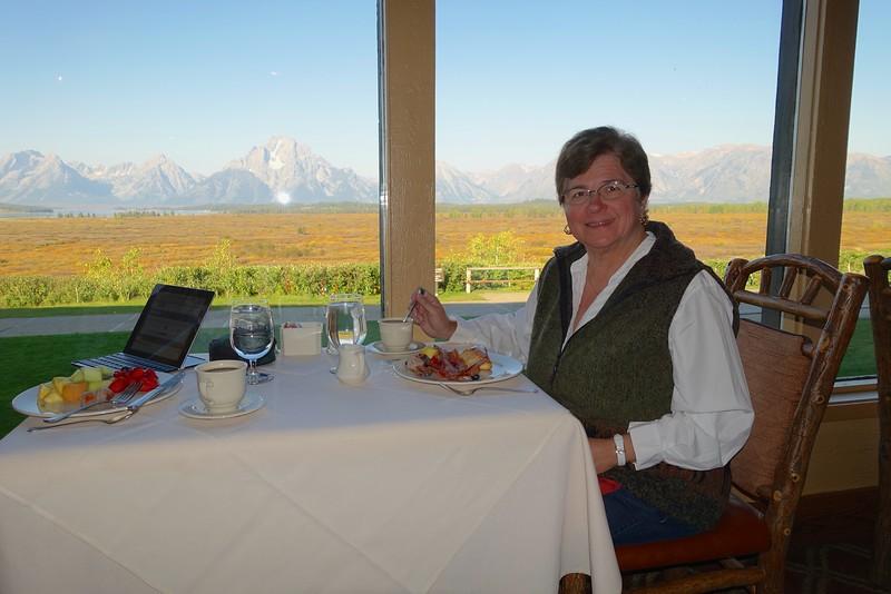 Breakfast at Jackson Lake Lodge