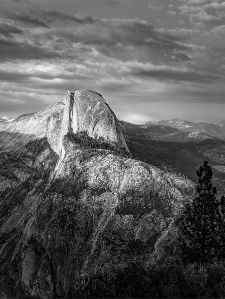 Half Dome from Glacier Pt vs2-Edit