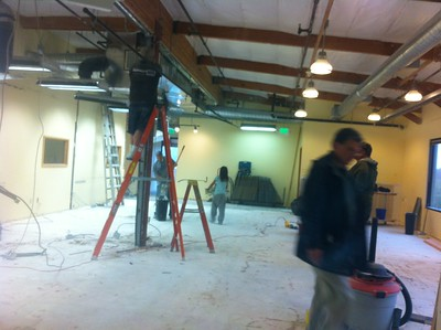 Youth Room Demo Work Day