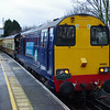 20303 at Herne Hill working Pathfinder Railtours Buffer Puffer 11.1 15:59 Epsom Downs - Herne Hill 08/02/14