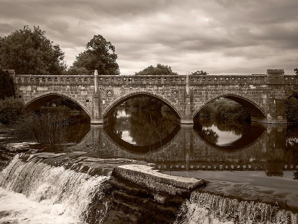 Bridge over still waters