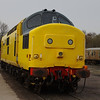 37198 stabled in Quorn & Woodhouse yard 30/03/14