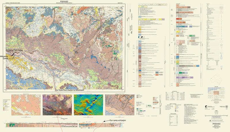 Millstream geol