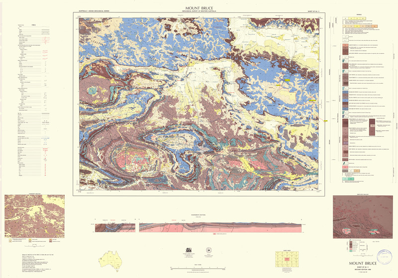 Karajini geol map