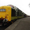 D9016 waits to depart Leicester North with the 16:45 to Loughborough 30/03/14