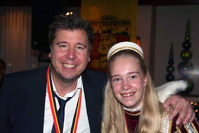 Bart van den Berg met page Quinty van den Berg