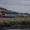 150245 passes Pwll working the 11:09 Pembroke Dock - Swansea 01/03/14