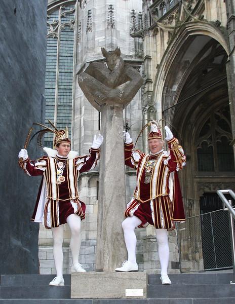 Prins Hans den Vierde en Jeugdprins Alec den Eerste