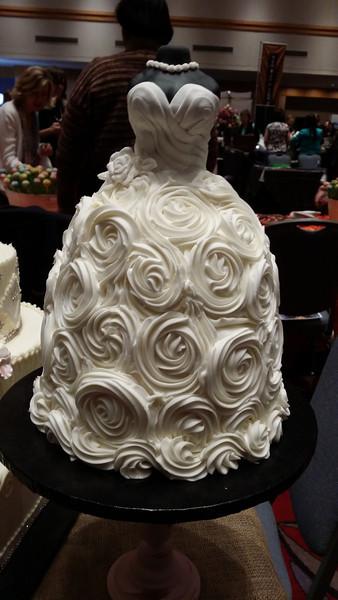 Bridal Shower Cake from Bredenbeck's Bakery