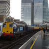 20304 prepares to leave London Bridge working Pathfinder Railtours Buffer Puffer 11.1 14:04 Battersea Loop - Epsom Downs 08/02/14