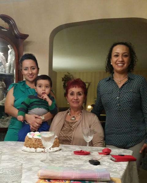Mom's Birthday Celebration 3/15