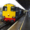 20303 arrived at Hayes working Pathfinder Railtours Buffer Puffer 11.1 10:26 Blackfriars - Cannon St 08/02/14