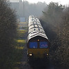 66021 leads away from Tower Colliery 15 minutes early working UK Railtours Tower Gateway 16:50 Tower Colliery - London Paddington 09/03/14