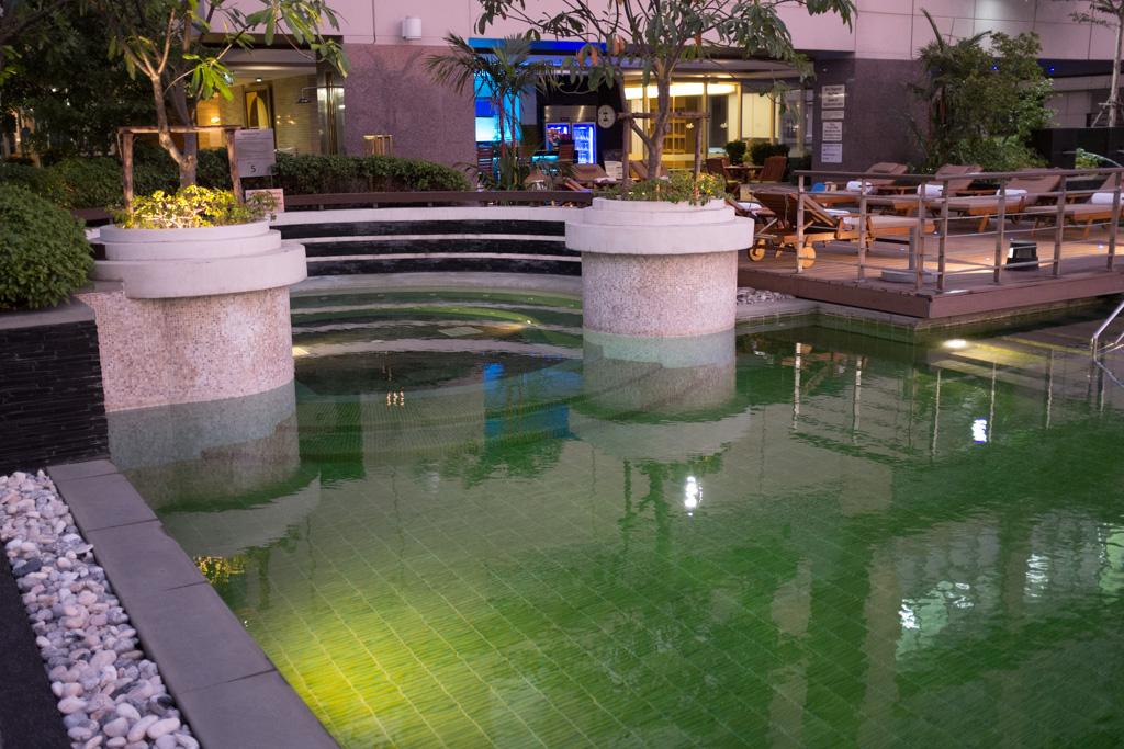 Pool on the 5th floor.