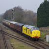 37198 arrives at Quorn & Woodhouse working the 14:05 Loughborough - Leicester North 30/03/14