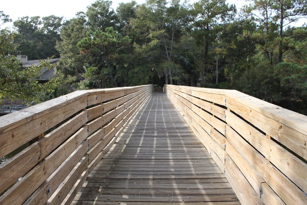 Boardwalk trail on Hilton Head Island