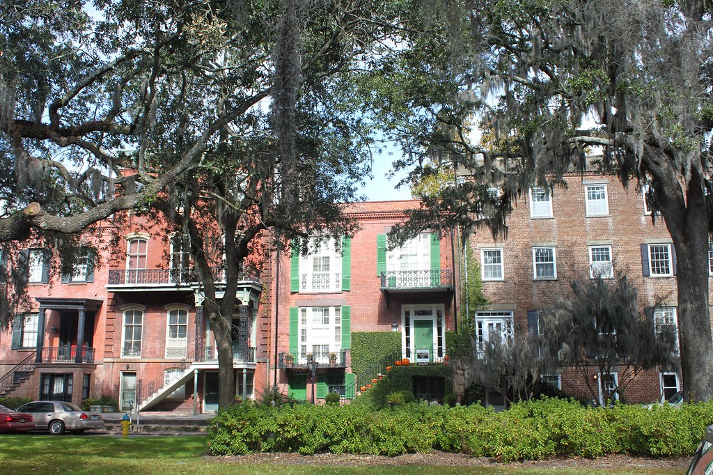 Historic homes of Savannah