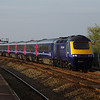43026+43196 pass Dawlish Warren working the 15:06 London Paddington - Penzance 21/04/14
