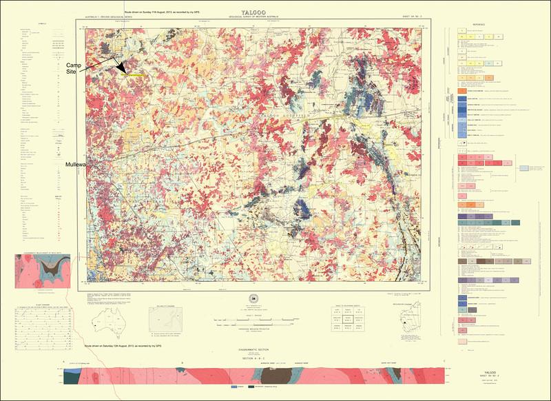 Mullewa Map