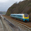 175106 passes St Ishmael working the 15:03 Carmarthen - Manchester Pic 01/03/14
