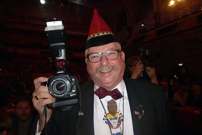 Een van de fotografen Geert Alwicher