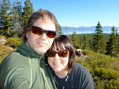 A January hike in Burton Creek State Park in Tahoe, CA.