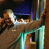 Rob Winner – rwinner@shawmedia.com<br /> <br /> Democratic Will County Sheriff's candidate Mike Kelley takes a call outside Jackie's Pub in Lockport, Ill., Tuesday, March 18, 2014.