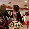 Rob Winner – rwinner@shawmedia.com<br /> <br /> Dancers including Anna Cousins (center), 10, of Keigher Academy of Irish Dance perform for a senior group at Al's Steak House in Joliet, Ill., Thursday, March 13, 2014.