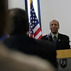 "Rob Winner – rwinner@shawmedia.com<br /> <br /> Secretary of State Jesse White speaks at Joliet Junior College to promote a new ad campaign, ""Be a Hero,"" which encourages Illinoisans to join the state's organ and tissue donor registry."