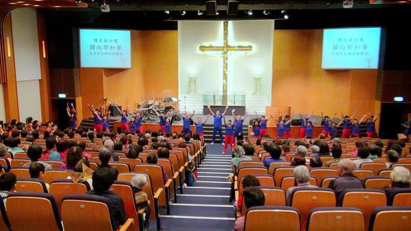 2014-05-02-讚美操分區祈禱會 -- 讚美操