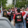 Rob Winner – rwinner@shawmedia.com<br /> <br /> The casket of Pfc. Aaron Toppen is carried from Parkview Christian Church in Orland Park to a horse-drawn carriage Tuesday. The 19-year-old Mokena native was among the five American soldiers killed June 9 in a friendly-fire incident in Afghanistan.<br /> <br /> Tuesday, June 24, 2014