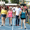 John Patsch-For Shaw Media<br /> People walk through the Taste of Joliet at Memorial Stadium.