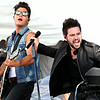 John Patsch-For Shaw Media<br /> The group Dan and Shay Entertain the crowd at Taste of Joliet.