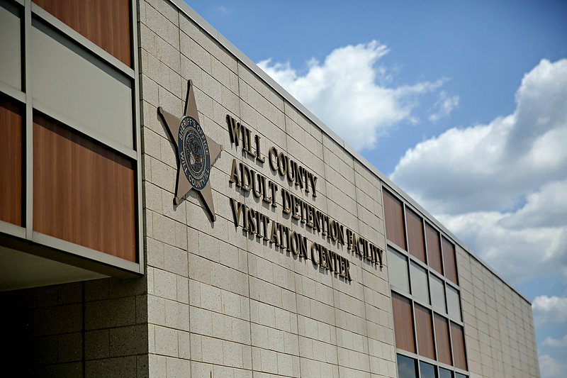 Rob Winner – rwinner@shawmedia.com<br /> <br /> The Will County Adult Detention Facility Visitation Center's video and audio system were damaged during the severe weather on June 30.<br /> <br /> Thursday, July 10, 2014<br /> Joliet, Ill.