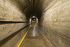 One of the tunnels in the dam.