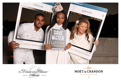 "2014.10.16 Diner en Blanc Atlanta #MOETMOMENT  ""Like"" us at http://www.facebook.com/omgbooth to TAG + SHARE + DOWNLOAD your photos  Le Dîner en Blanc, a ""bright"" idea…  At the last minute, the location is given to thousands of friends and acquaintances who have been patiently waiting to learn the ""Dîner en Blanc's"" secret place. Thousand of people, dressed all in white, and conducting themselves with the greatest decorum, elegance, and etiquette, all meet for a mass ""chic picnic"" in a public space."
